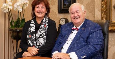 Peter van Amerongen Sr. & Gitta van der Veldt-Raggers